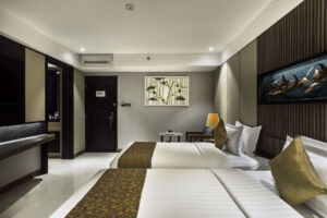 Deluxe room-twins size bed