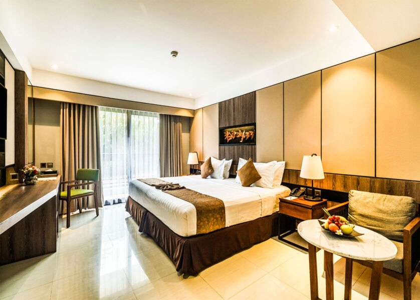 Deluxe Room - King size bed